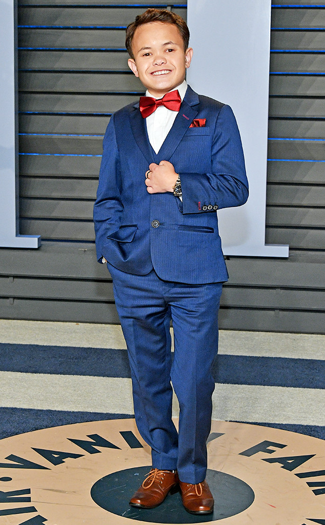 Sam Humphrey, 2018 Oscars Vanity Fair Party
