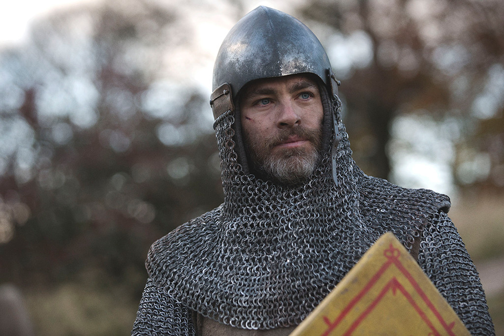 Chris Pine, Outlaw King