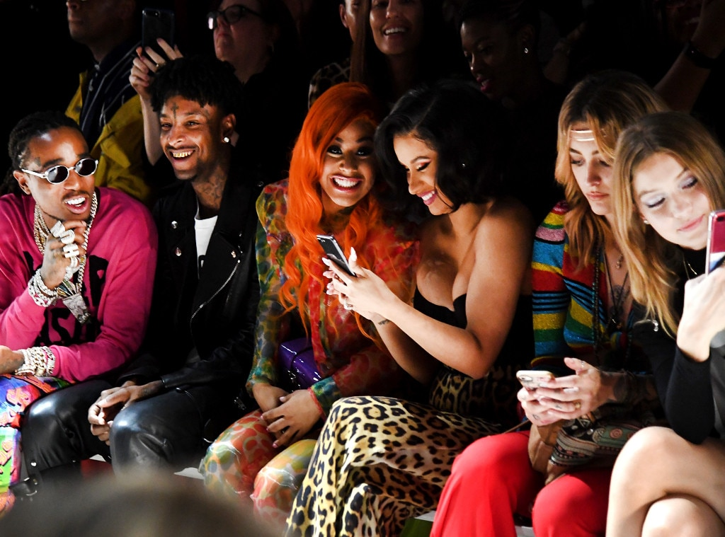 fe462fd0726a Jeremy Scott from Celebrities Front Row at New York Fashion Week ...