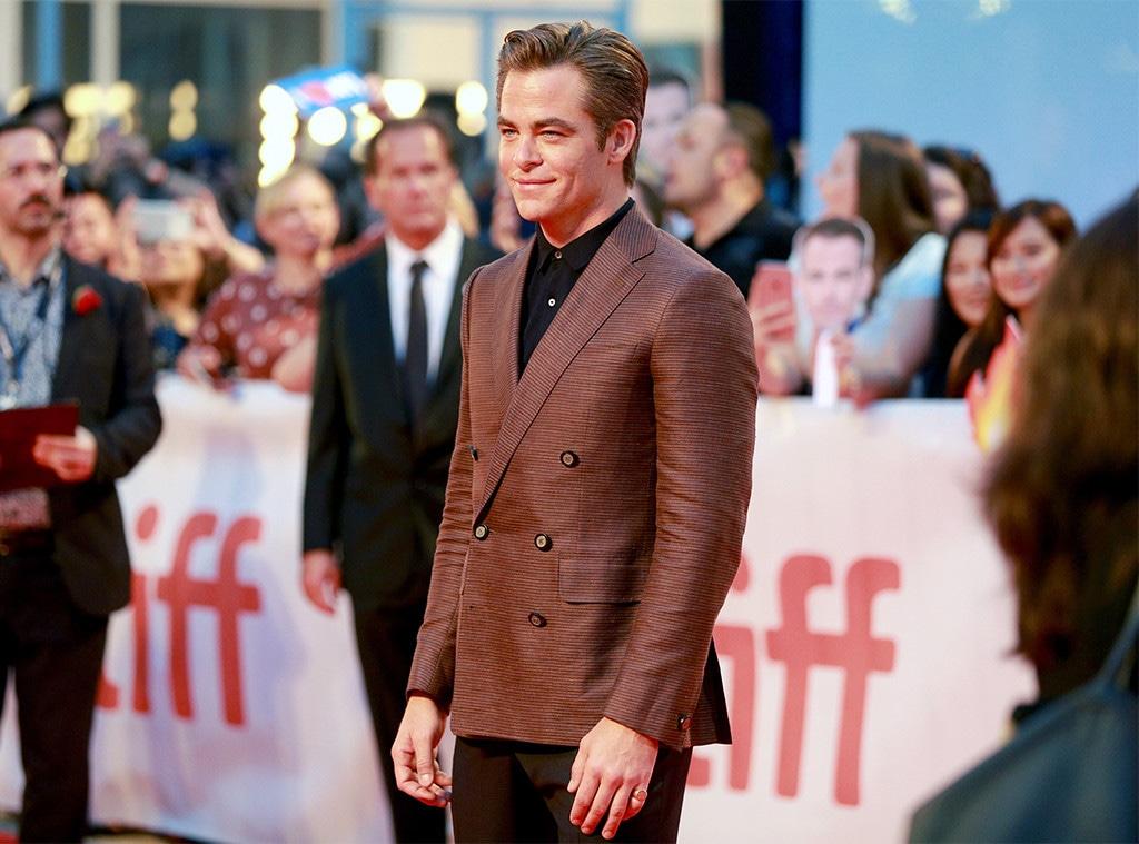Chris Pine, Toronto Film Festival 2018