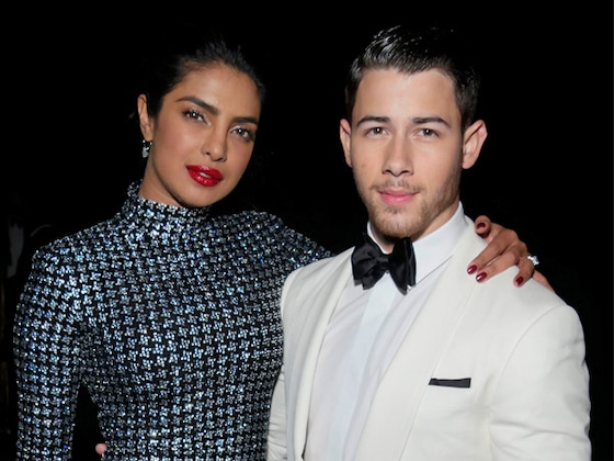 Nick Jonas and Priyanka Chopra Don Traditional Indian Ensembles in Italy
