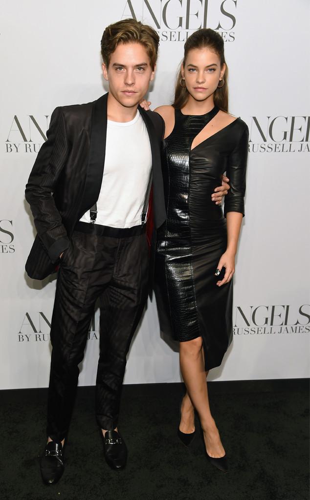 Dylan Sprouse, Barbara Palvin, New York Fashion Week
