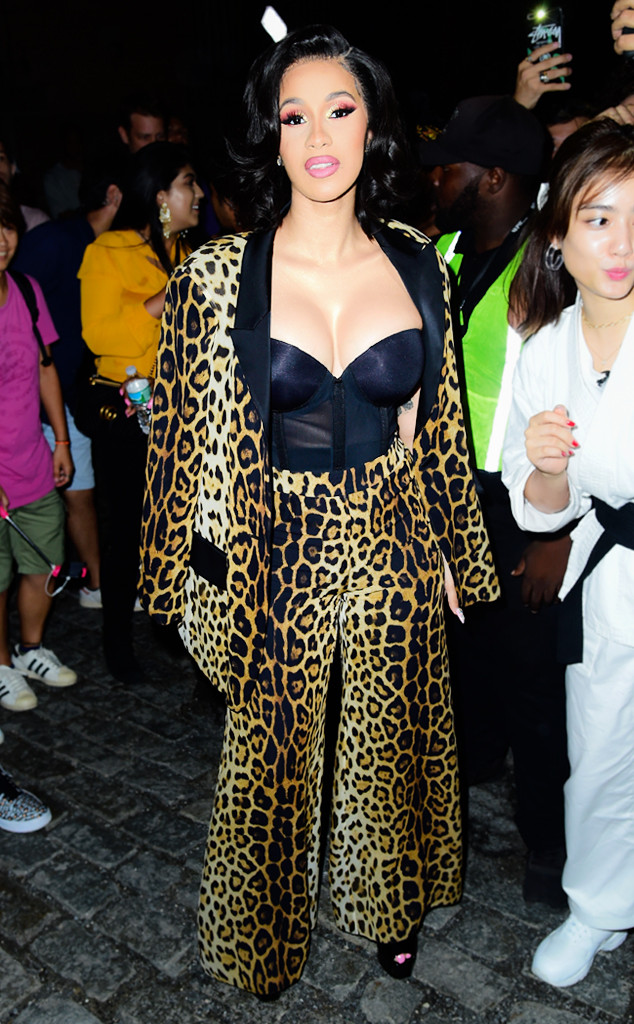 Every Outfit Cardi B Has Worn During New York Fashion Week