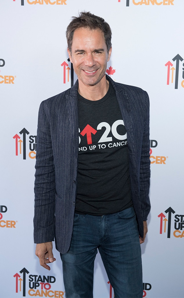 Eric McCormack Stand Up To Cancer 2018