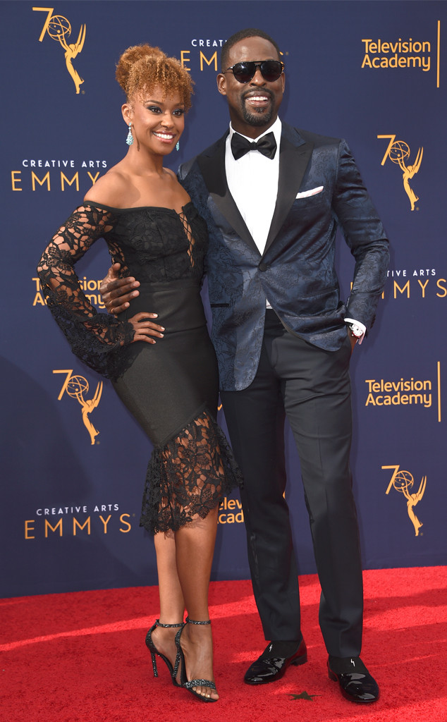 Sterling K. Brown, Ryan Michelle Bathe, 2018 Creative Arts Emmy Awards