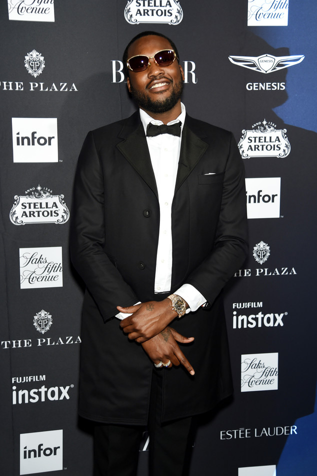 Harpers Bazaar Icon Party, Meek Mill