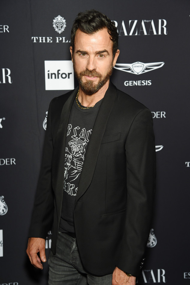 Harpers Bazaar Icon Party, Justin Theroux