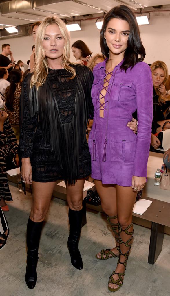 Kate Moss, Kendall Jenner, NYFW