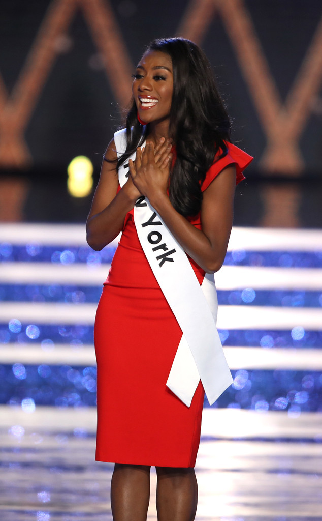 Nia Franklin, Miss New York, Miss America