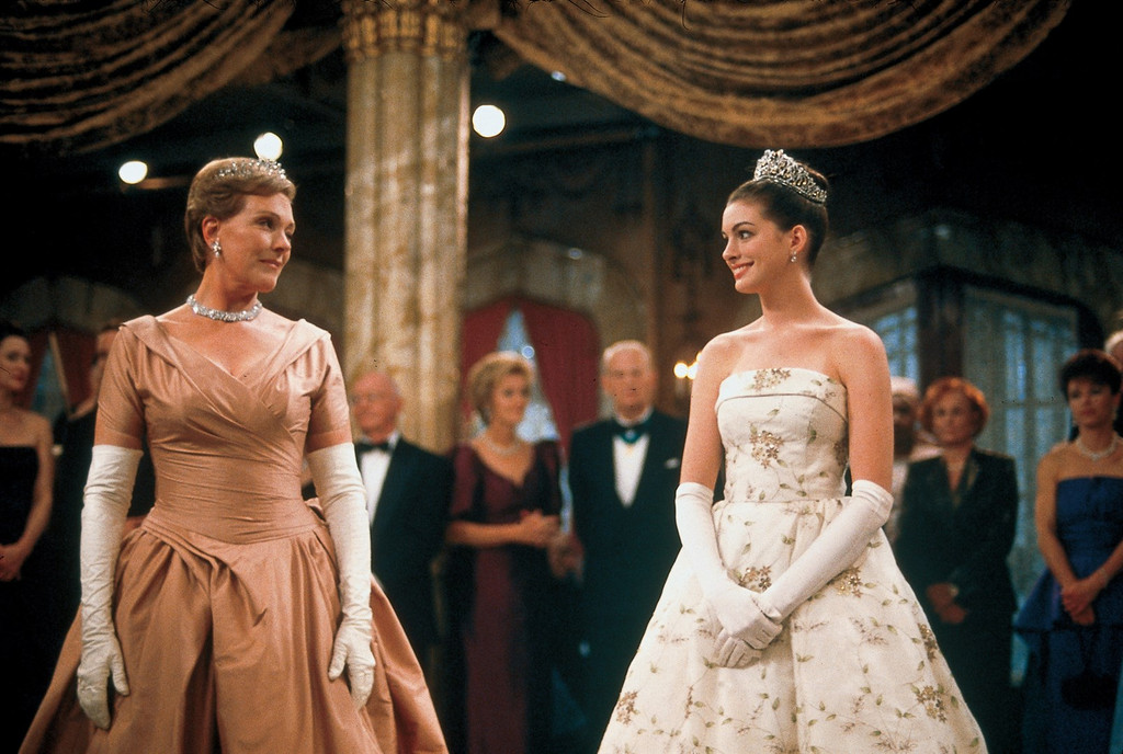 Anne Hathaway, Julie Andrews, The Princess Diaries