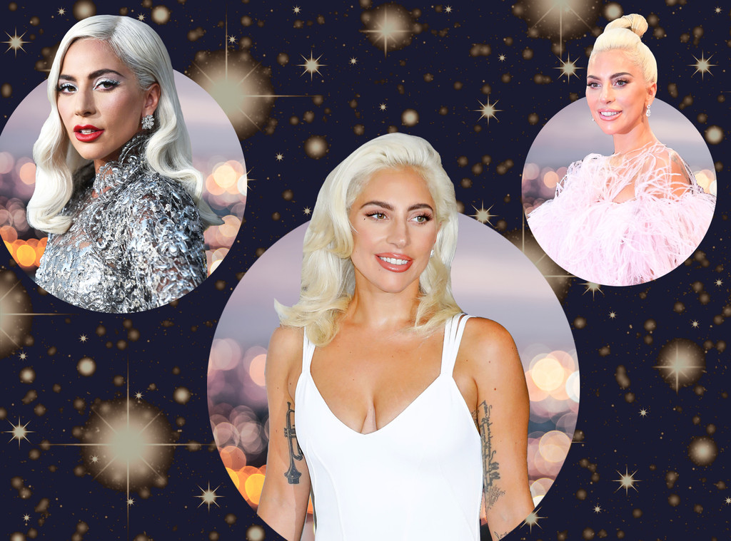 Lady Gaga, A Star is Born Press Tour Hair