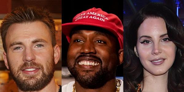 734c241f Chris Evans, Lana Del Rey and Others Criticize Kanye West's Politics | E!  News