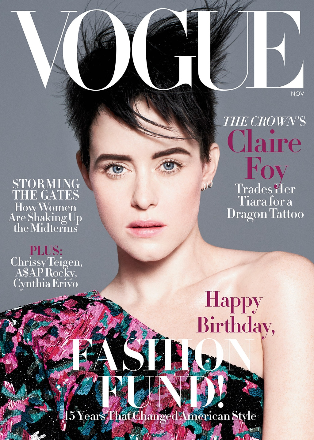 vogue covers foy claire magazine november american stars issue sims david star january web december australia photographed celebrity las gushes
