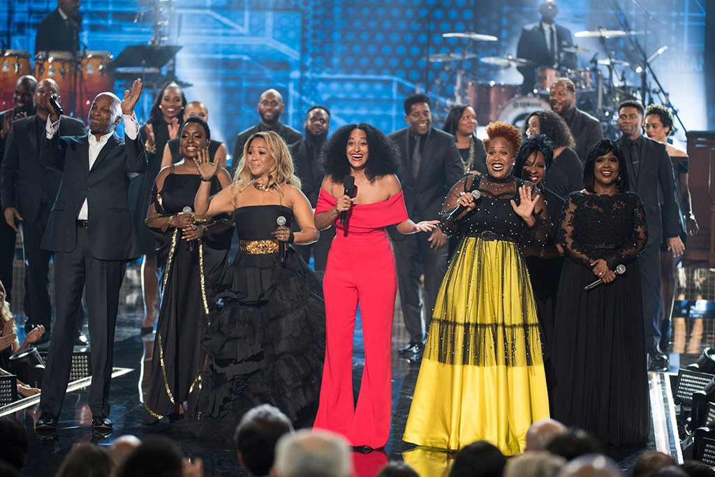 A Grand Fashion Finale From Tracee Ellis Ross 2018 American Music