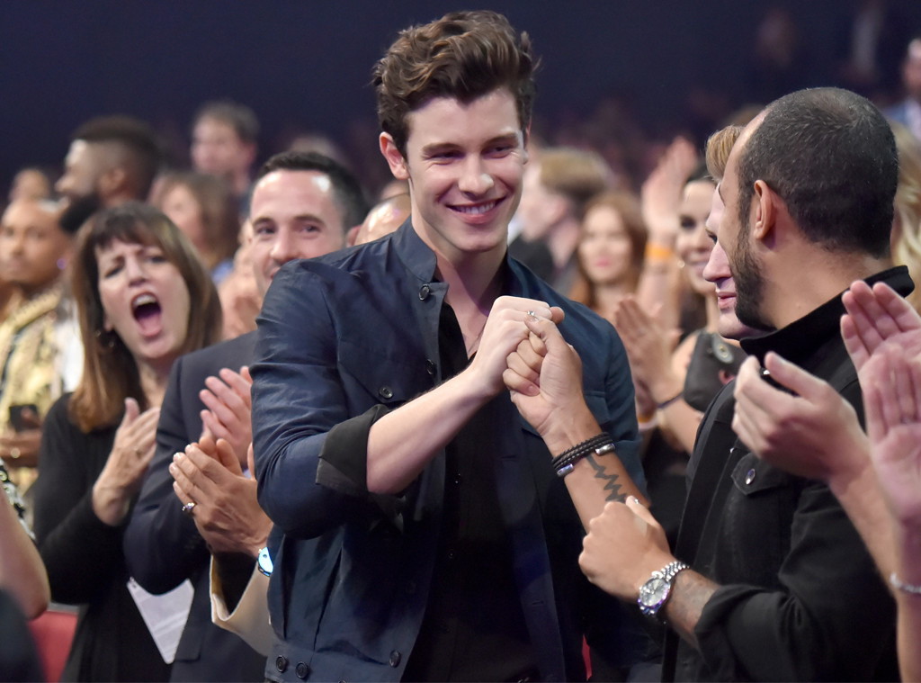 Shawn Mendes, 2018 American Music Awards, AMAs, Candid