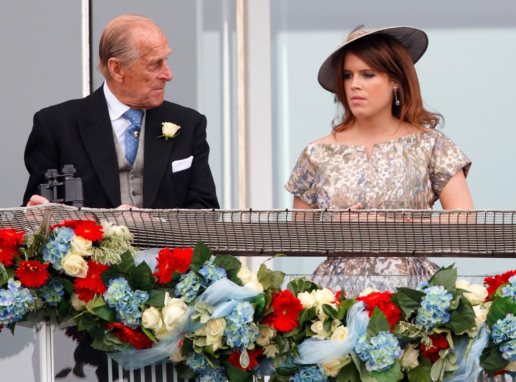 Prince Philip, Duke of Edinburgh, Princess Eugenie of York