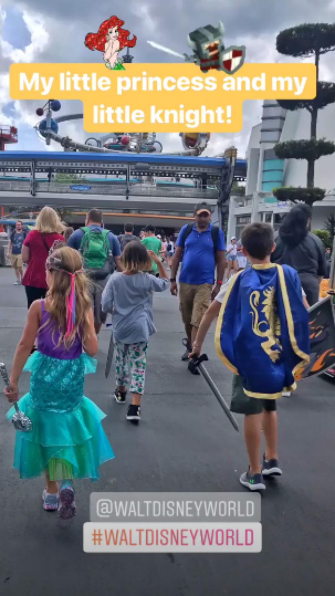 Gisele Bündchen, filhos, Disney