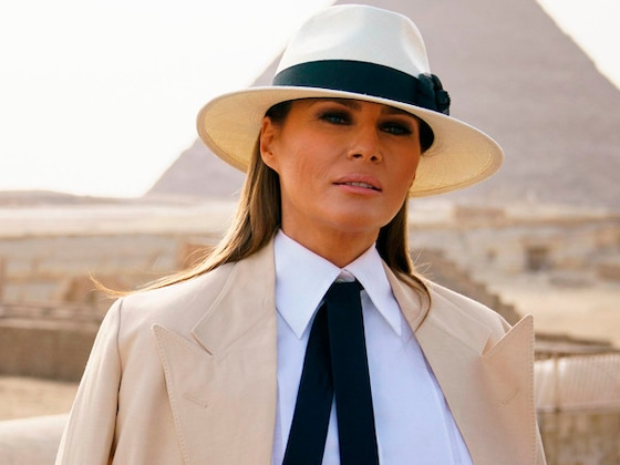 Melania Trump's Plane Lands Safely After Experiencing Mechanical Issue