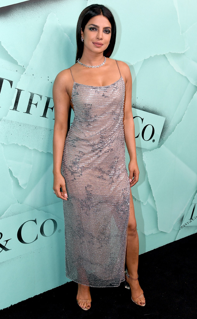 Priyanka Chopra, 2018 Tiffany Blue Book Collection Event