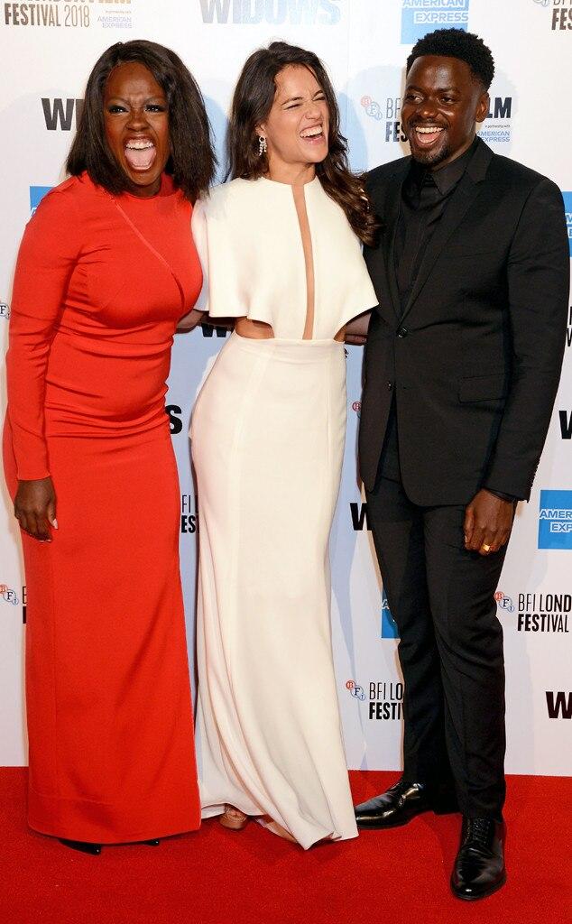 Viola Davis, Michelle Rodriguez, Daniel Kaluuya, Widows premiere