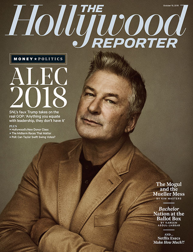 Alec Baldwin, The Hollywood Reporter