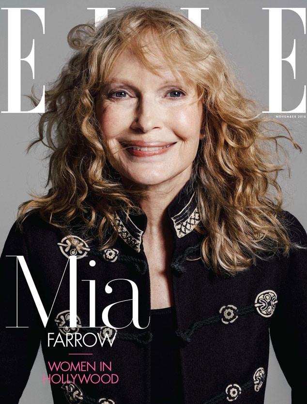 Mia Farrow, Ronan Farrow, Elle