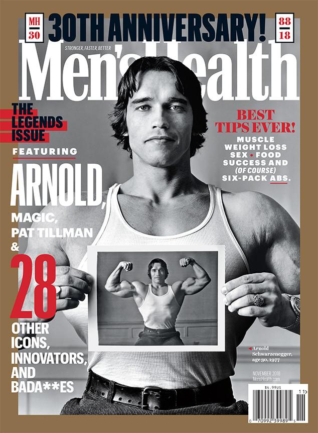 Arnold Schwarzenegger, Men's Health, 30th Anniversary Issue