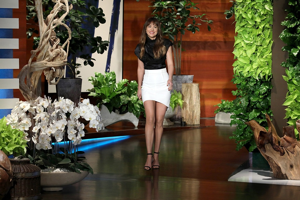 Dakota Johnson The Ellen De Generes Show