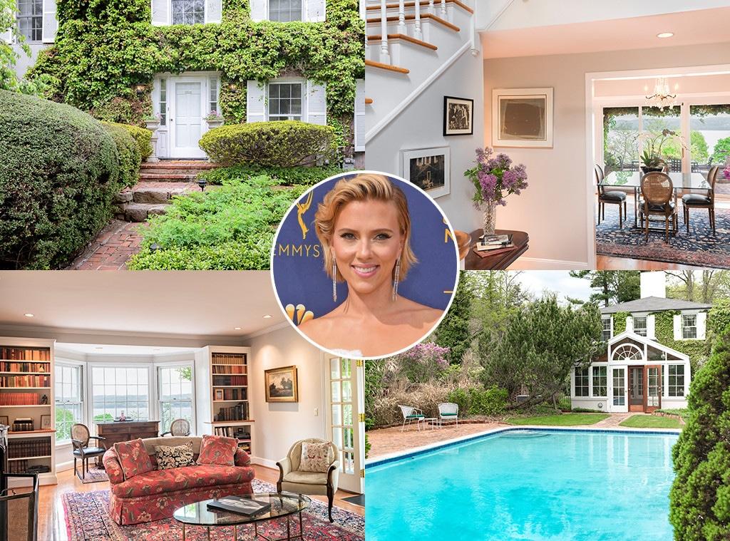 Scarlett Johansson, Hampton Home