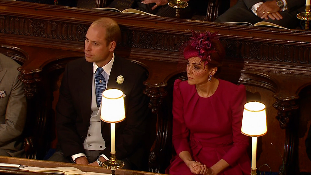Prince William, Kate Middleton, Princess Eugenie Royal Wedding