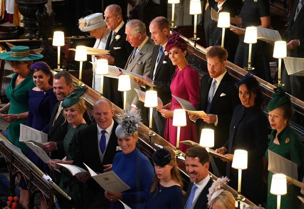 Princess Eugenie Royal Wedding, Prince William, Prince Harry, Kate Middleton, Queen Elizabeth, Meghan Markle, Sarah Ferguson
