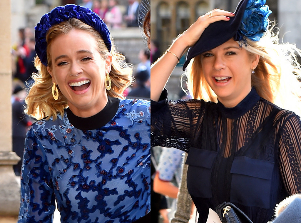 Cressida Bonas, Chelsy Davy, Priness Eugenie Royal Wedding