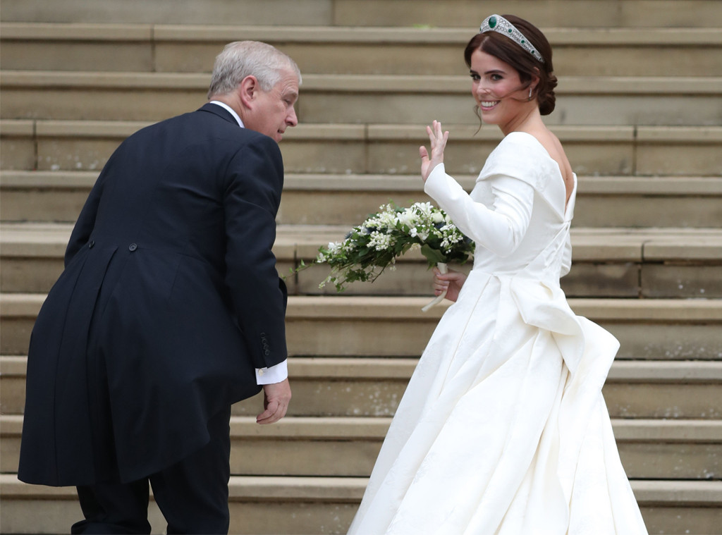 Princesa Eugenie, Príncipe Andrew, Princesa Eugenie Casamento Real