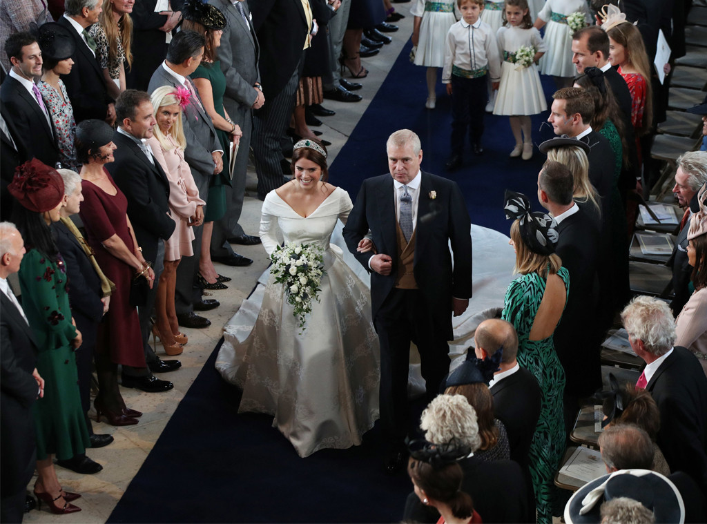 Princess Eugenie, Prince Andrew, Princess Eugenie Royal Wedding