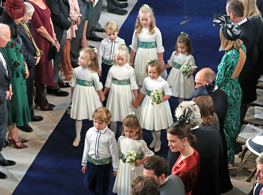 Princess Eugenie Royal Wedding, Prince George, Princess Charlotte