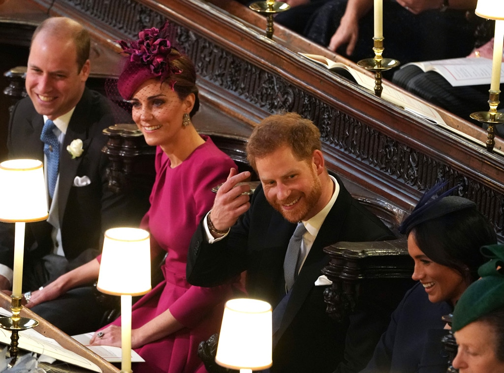 Prince Harry, Meghan Markle, Kate Middleton, Prince William, Princes Eugenie Royal Wedding