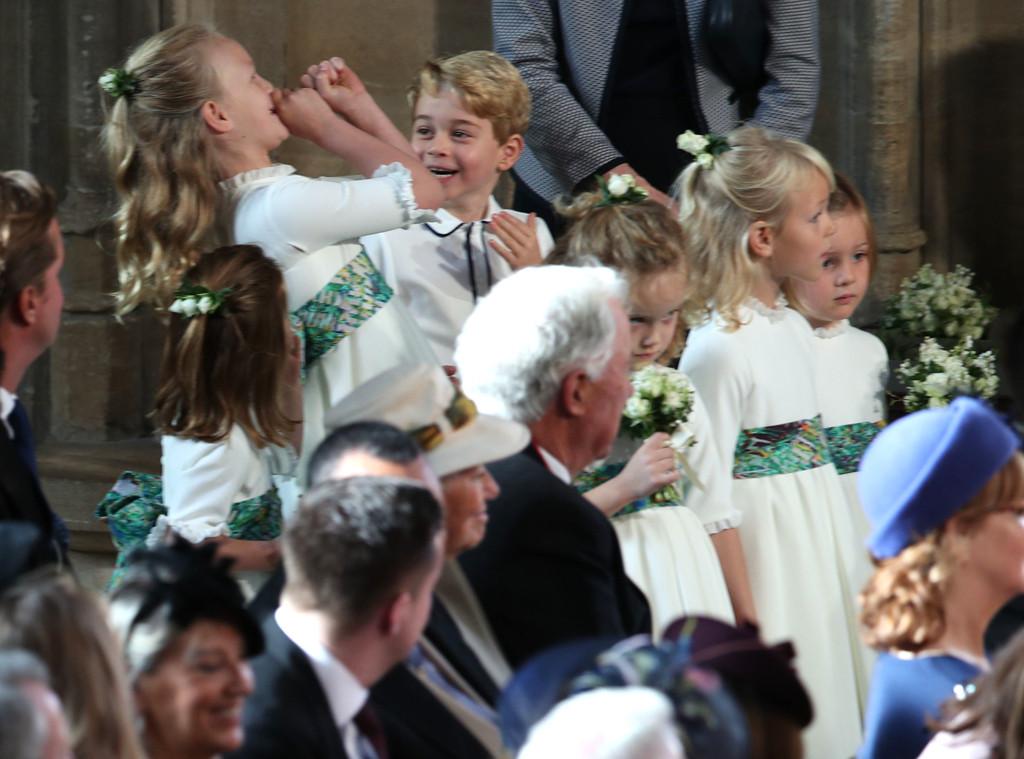 Princess Eugenie Royal Wedding, Prince George, Savannah