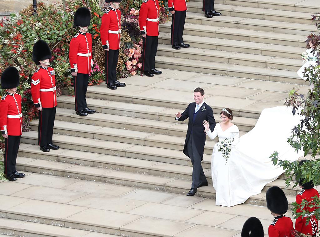 Guards, Flowers, Princess Eugenie, Jack Brooksbank, Princess Eugenie Royal Wedding