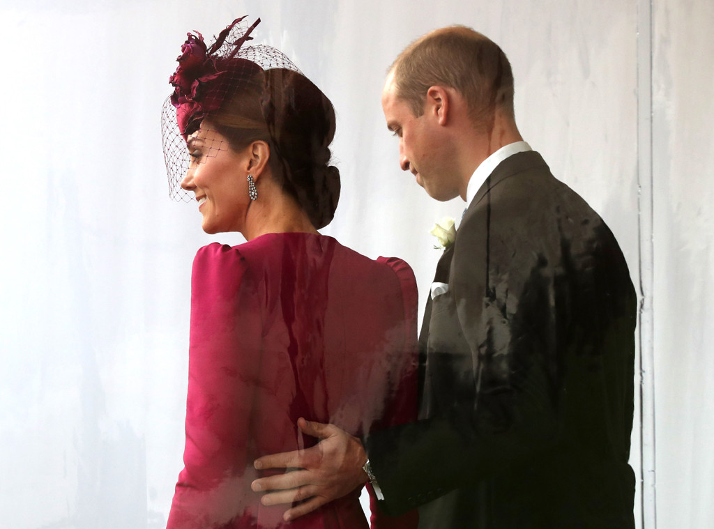 Princess Eugenie Royal Wedding, Kate Middleton, Prince William, PDA