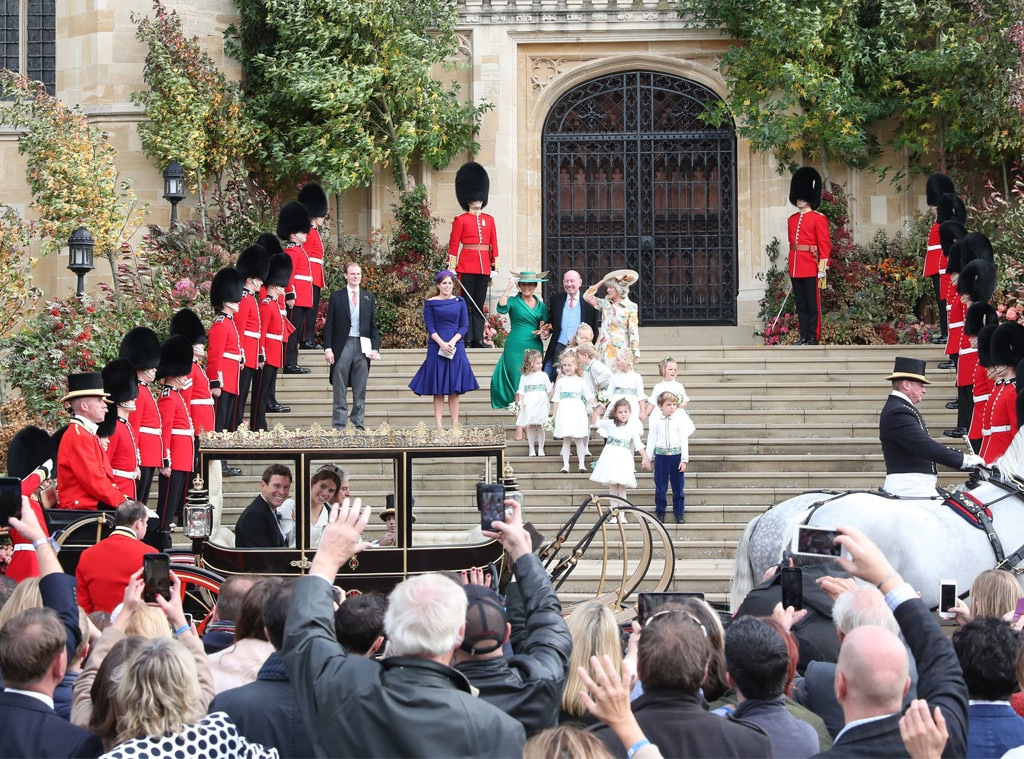 Princess Eugenie Royal Wedding, Carriage, Atmosphere