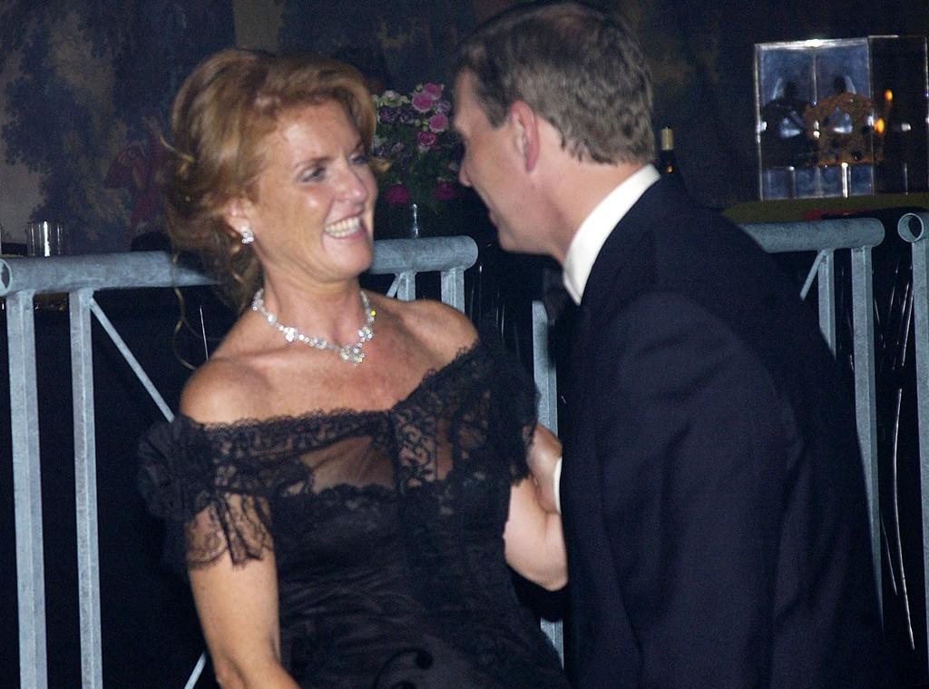 Duchess Sarah Ferguson, Prince Andrew, 2002