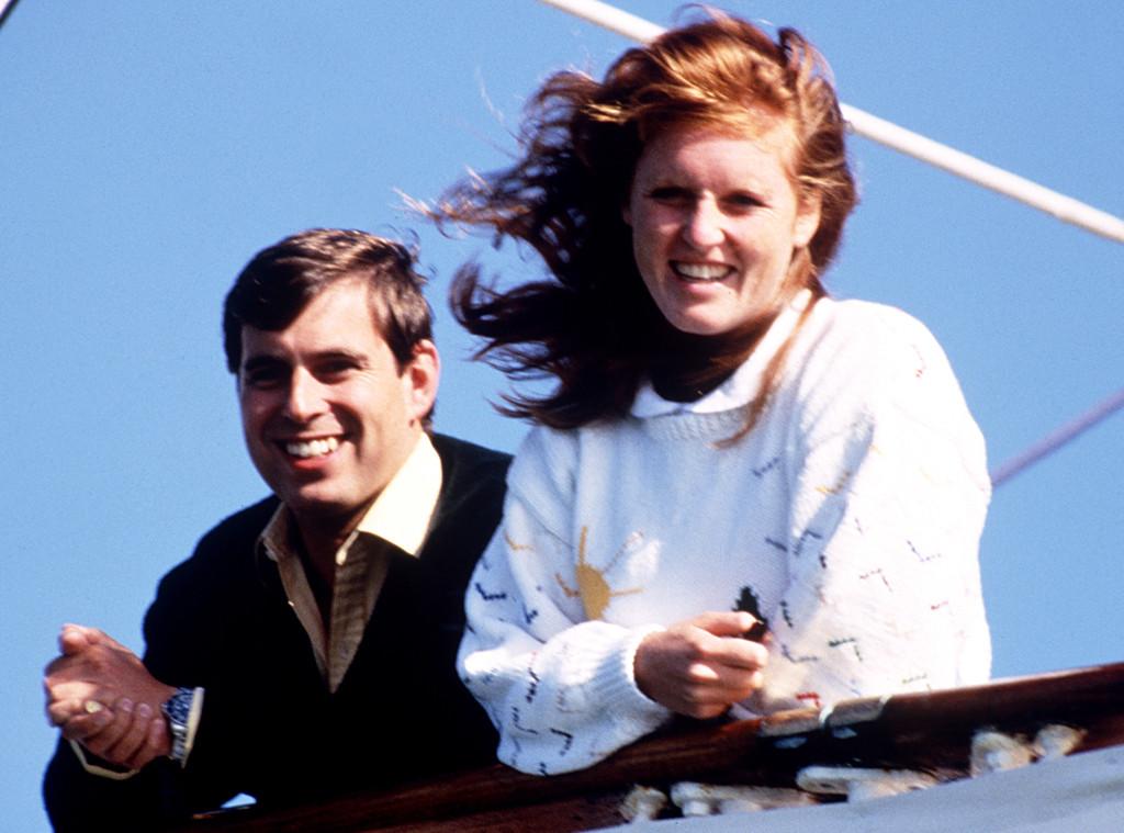 Duchess Sarah Ferguson, Prince Andrew, 1986