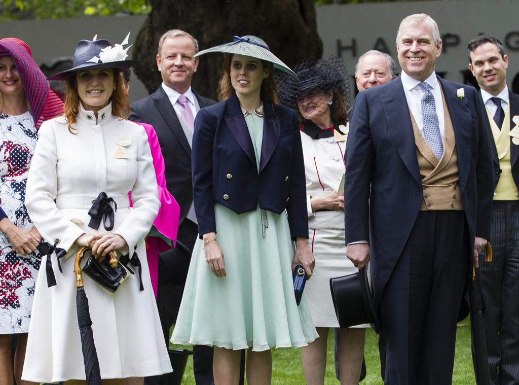 Duchess Sarah Ferguson, Prince Andrew, Princess Beatrice