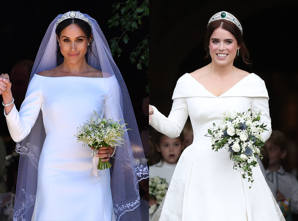 how princess eugenie s wedding differed from meghan markle s e online how princess eugenie s wedding differed