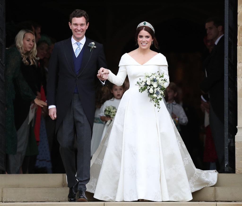 Stairs, Princess Eugenie, Jack Brooksbank, Princess Eugenie Royal Wedding