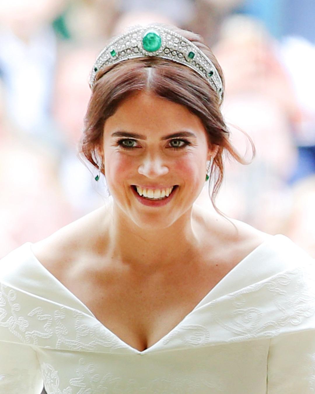 ESC: Princess Eugenie, Tiara, Princess Eugenie Royal Wedding