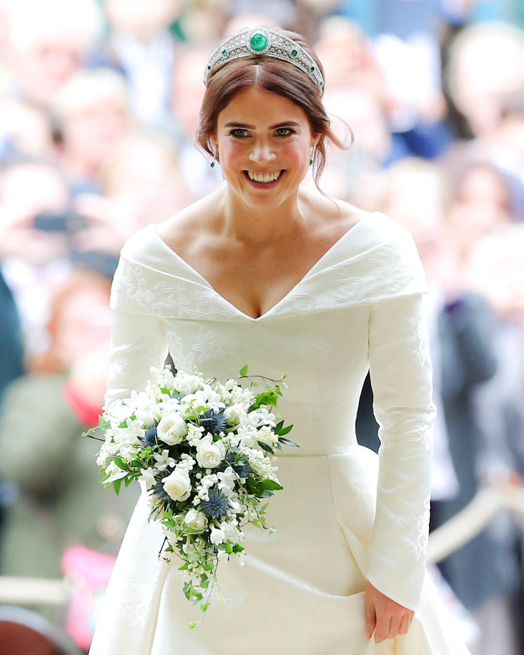 Princess Eugenie Wedding.Princess Eugenie S Royal Wedding Bouquet All The Details E News
