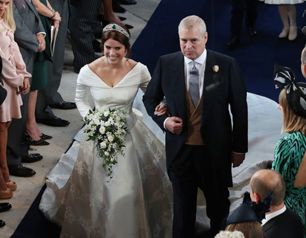 Princess Eugenies Dad Prince Andrew Gives Moving Speech At Wedding