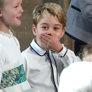 Prince George, Princess Eugenie Royal Wedding