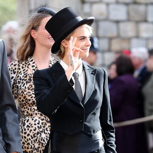 Cara Delevingne, Princess Eugenie Royal Wedding